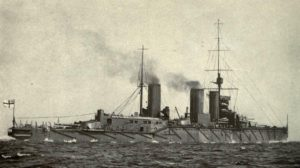 HMS Queen Mary - sunk in the Battle of Jutland 31 May 1916